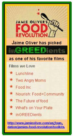 Jaime Oliver picks inGREEDients