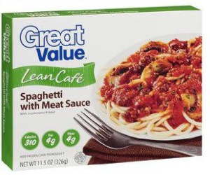 Walmart Great Value Spaghetti With Meat Sauce