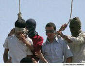 Gay Teenagers in Iran executed
